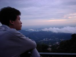 overlooking kl from genting by dh2050