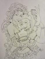 Ivy and Harley by BexFx13