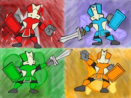 Castle Crashers by ICKEEE