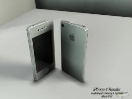 iPhone Rendering by AxelBlythe