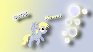 Derpy hooves wallpaper by Diagon197