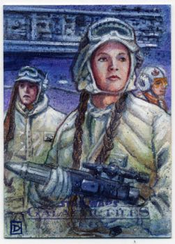 Star Wars Galactic Files 2 Sketch Card by DavidRabbitte