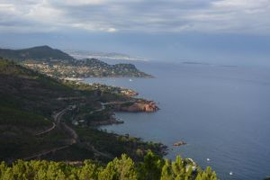 Golden Coast of French Riviera by A1Z2E3R