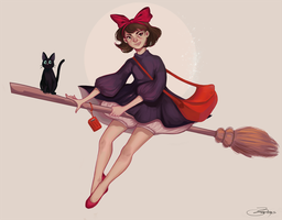Kiki's Delivery Service by Dasyeeah
