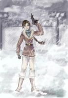 Snow_sketch by Arnelica