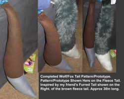 Wolf/Fox Tail Prototype by LilWolfStudios