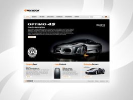 Hankook promo-site by denixoid
