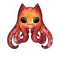 SQUID KITTY by Nero-TheDevilBringer