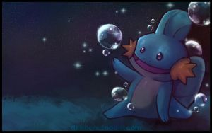 Mudkip Background by DablurArt