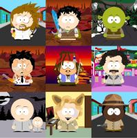 South Park People 2 by WildPencil