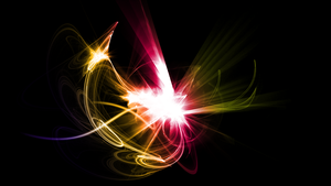 Abstract Light Wallpaper by Hardii