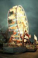 Empty Ferris Wheel by Amisos