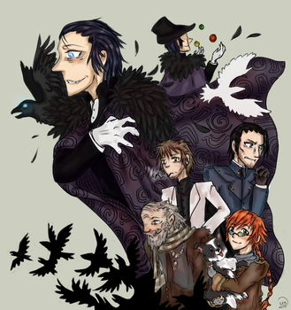 Murder of Crows by LadyVentuswill