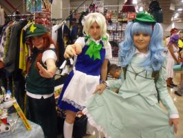 Florida Supercon '12: Touhou gals by NaturesRose