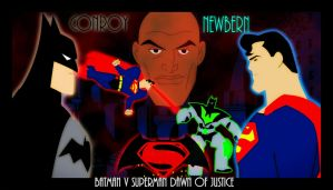 Batman v Superman DawnOfJustice The Animated Movie by bat123spider