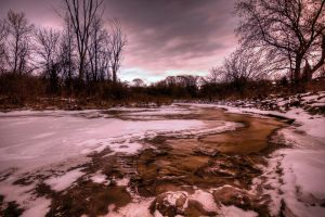 snow ice and water. by theycome