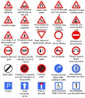 Alternate Road Signs by Man-in-crowd-4