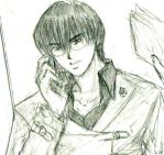 Really rough adult Seto sketch by Lizeth