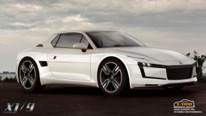 Fiat X1/9 Concept front by x-tomi
