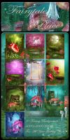 Fairytale Place backgrounds by moonchild-lj-stock