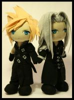 Advent Children by pheleon