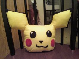 Pichu Pillow Plush by Count-Von-Sammitchy