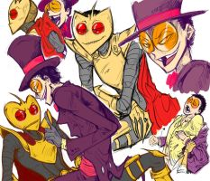 Superjail Sketches by crackcat911