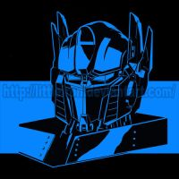 digi inked Prime head by littleiron