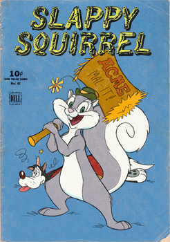 Slappy Squirrel Issue No. 1 by tymime
