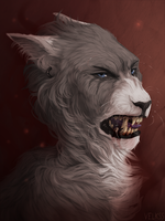 Wolfylynx commish by Velkss