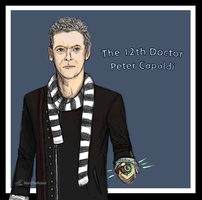 The 12th Doctor - Peter Capaldi by AlanTheRobot