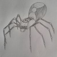 Mechanical Spider by Perianth5