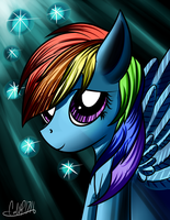 Rainbow Dash by CalebP1716