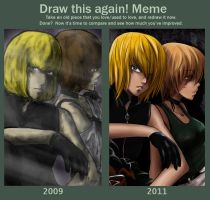 Before-After Mello X Hedge by rayn44