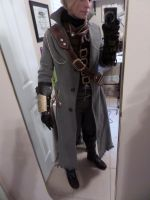 Bloodborne Hunter Cosplay WIP 2 by makeshiftwings30