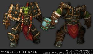 Warchief Thrall by 31883milesperhour