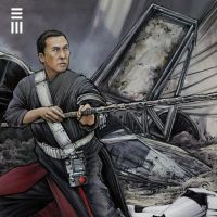 Rogue One Concept Sketch - Chirrut Imwe detail by Erik-Maell