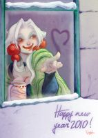 Happy New Year 2010 by Nephyla