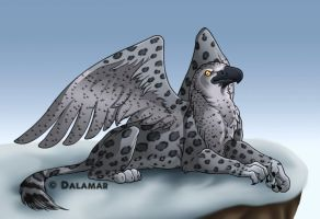 Gryphon Collab by HDevers