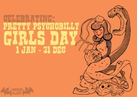 pretty psychobilly girls day by HorrorRudey