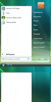 Windows 7 6780 Start menu by dejco