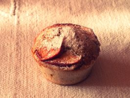 Apple muffin by funnyzzz