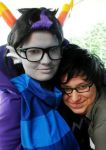 Eridan and Jake by envoysoldier