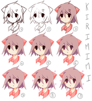 Step by Step (new)coloring sai by Kirimimi