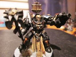 Strakos the High reclusiarch of Death Legion by Stanfar
