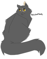 Yellowfang by thecatsshoes