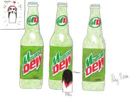 Pheos and Mountain Dew by Lily-Marie