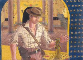 Indiana Jones and the Key of the Underworld by ArtisticAdventures