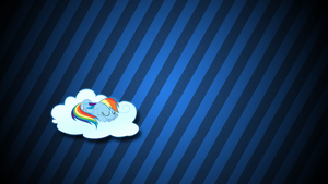 Napping with Rainbow by ikonradx