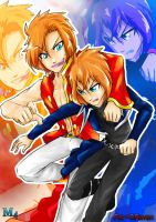 Gift: Apollon and Artemis Fair-ly God Brothers by Marini4